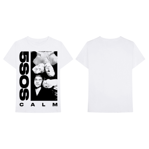 √White CALM von 5 Seconds of Summer - T-Shirt jetzt im 5 Seconds Of Summer Shop