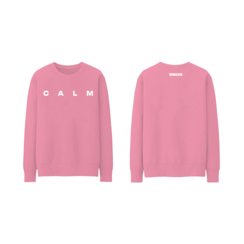 Pink CALM von 5 Seconds of Summer - Sweater jetzt im 5 Seconds Of Summer Shop